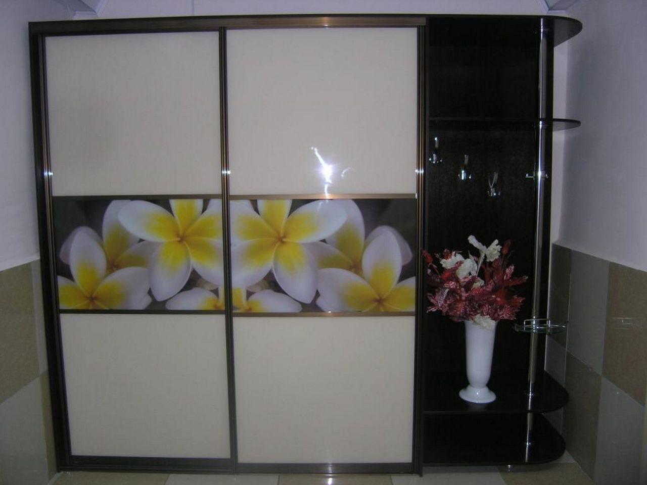 Шкаф-купе Цветы - корпусные Галерея по мебели на заказ и 6