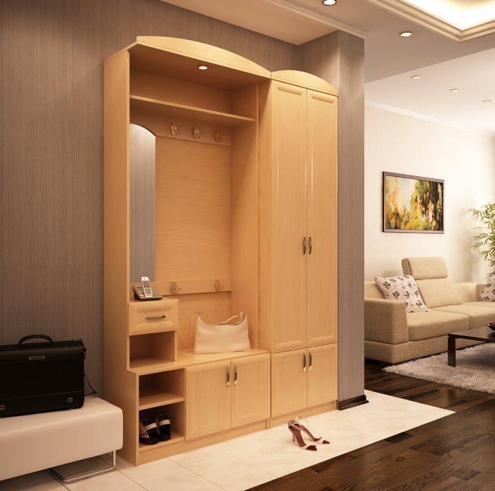 Как выбрать шкаф в прихожую: 4 варианта исполнения.