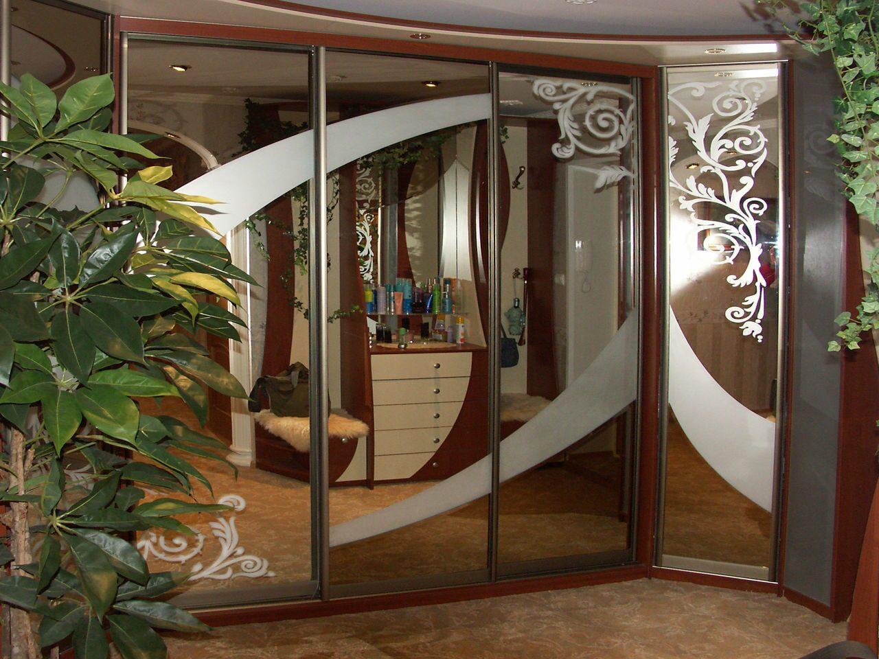 """Шкаф-купе """"зеркальный"""" с подсветкой ооо """"самая лучшая мебель."""