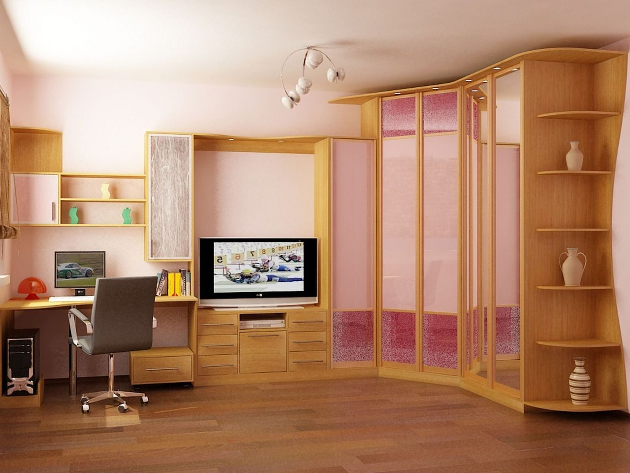 Шкафы В Гостиную Фото В Москве