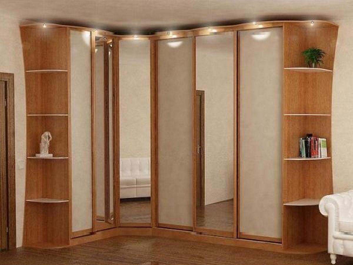 Угловые шкафы-купе Чудо шкаф изготовление мебели по индивиду.