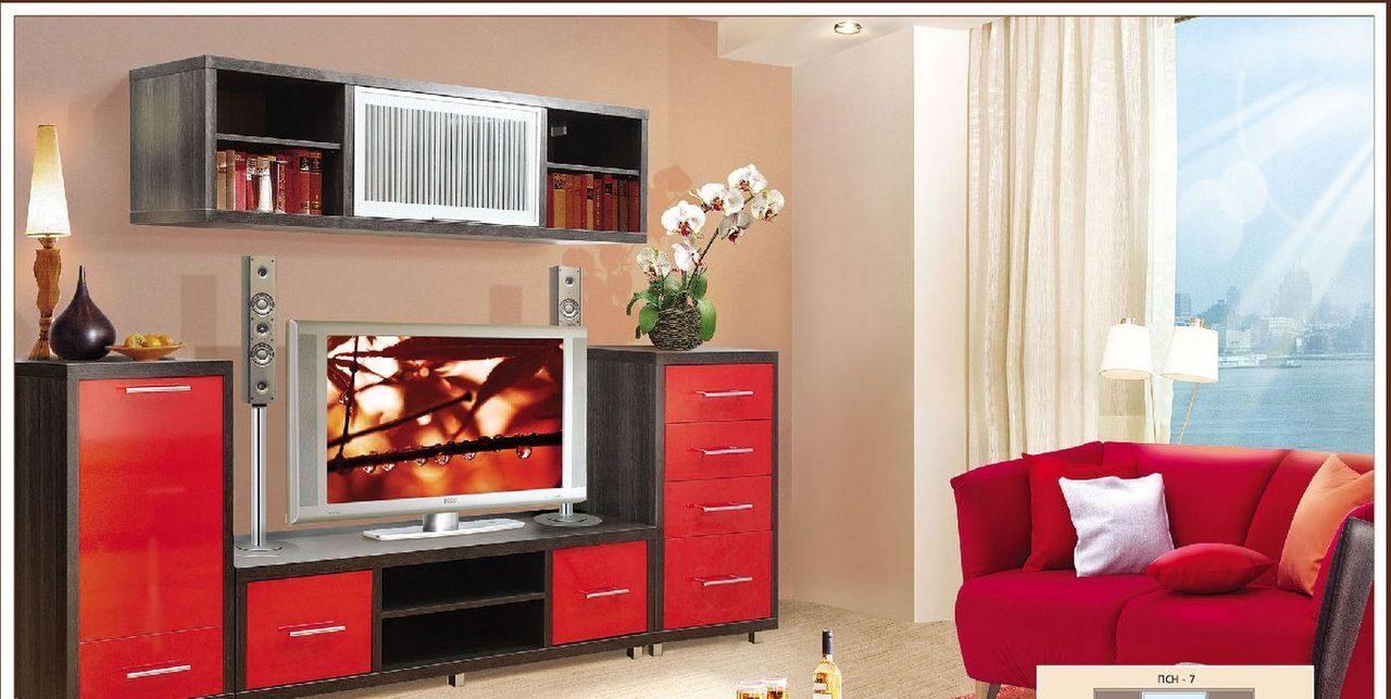 Современные стенки в гостиную - функционально и стильно.