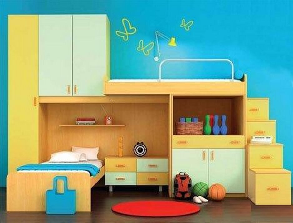Детская мебель на заказ в москве и московской области. шкафы.
