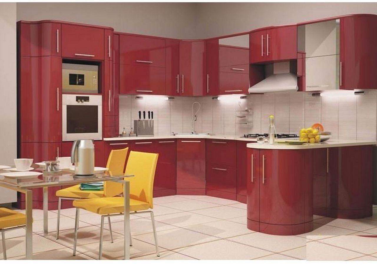 Фото интерьер кухня мебель