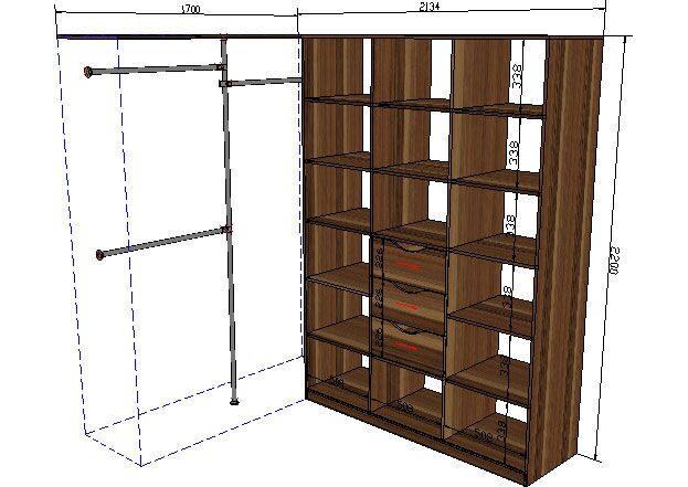 Посмотреть 1800 эскиз-проектов мебели. возможно вы найдете п.